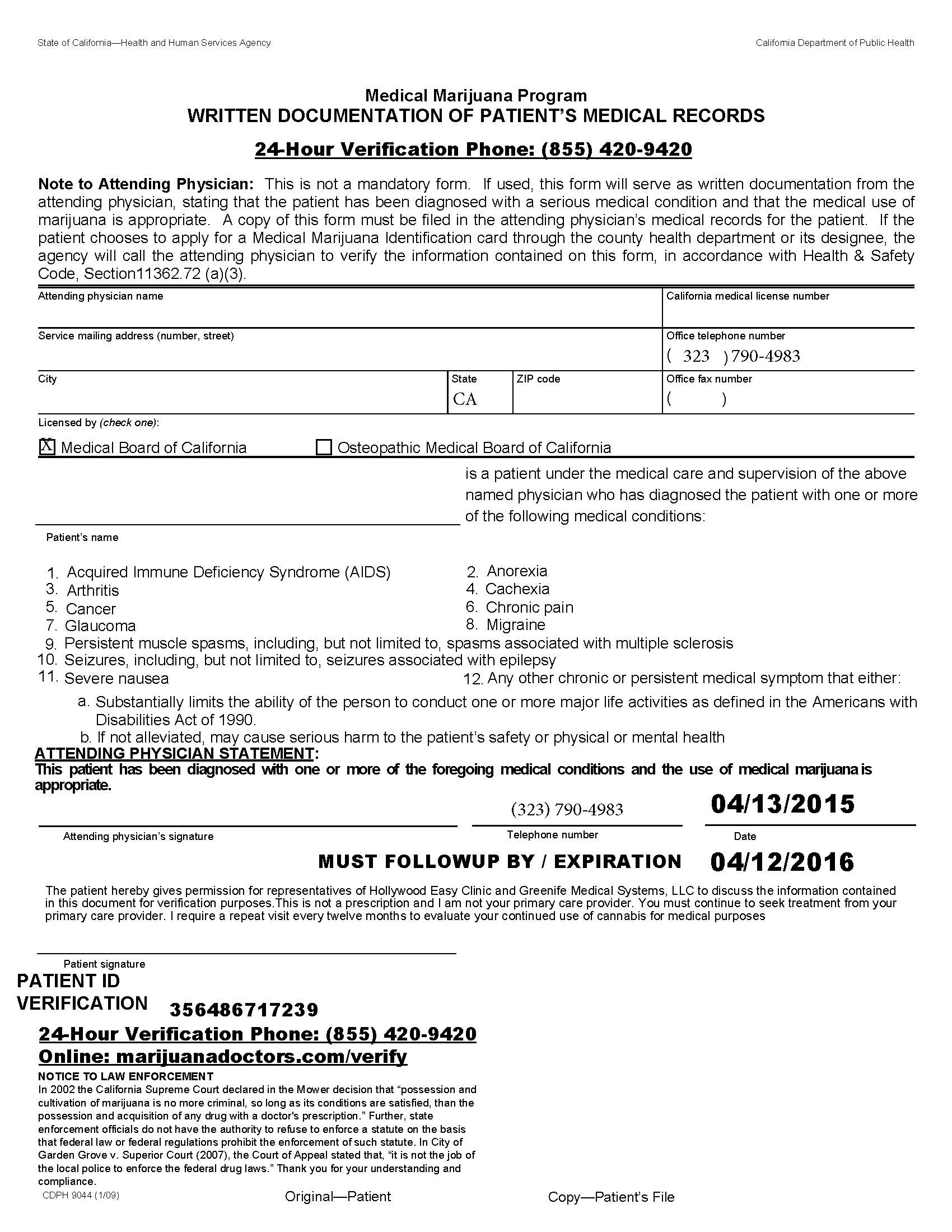 medical marijuana card application new york