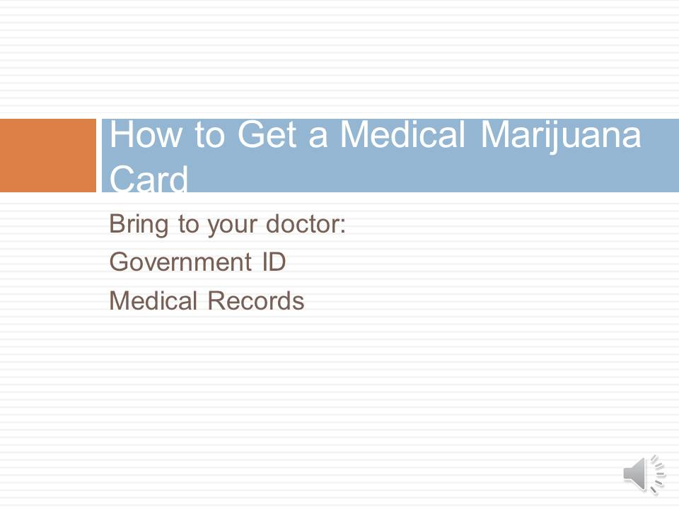 How to get Medical marijuana card 90010